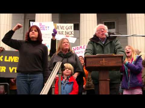 Bernie Sanders Full Speech at the Women