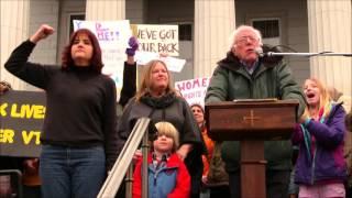 Bernie Sanders Full Speech at the Women
