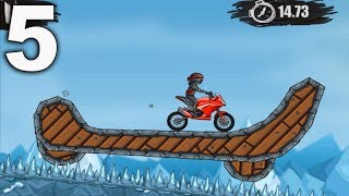 MOTO X3M Bike Racing Game - levels 46 - 60  Gameplay Walkthrough Part 5 (iOS, Android)