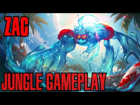 League of Legends - Zac Jungle Gameplay - WHEPA ÁGUINHA [PT-BR]