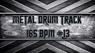 Modern Metal Drum Track 165 BPM (HQ,HD)