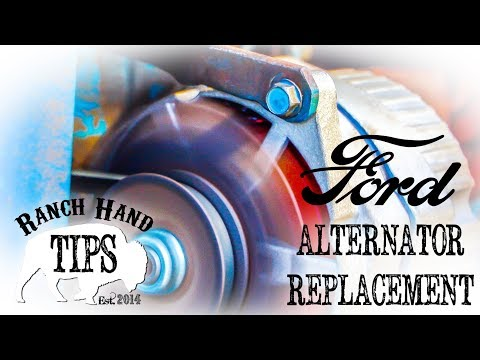 Ford 3000 Alternator Replacement 12V Conversion - Ranch Hand Tips