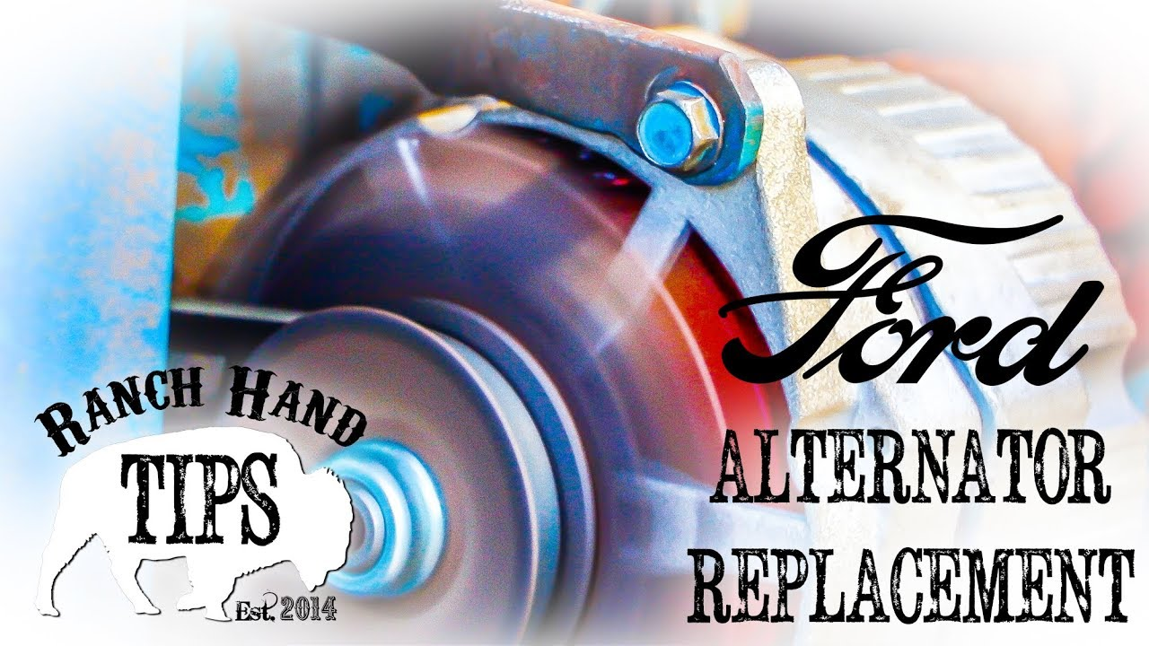 hight resolution of ford 3000 alternator replacement 12v conversion ranch hand tips