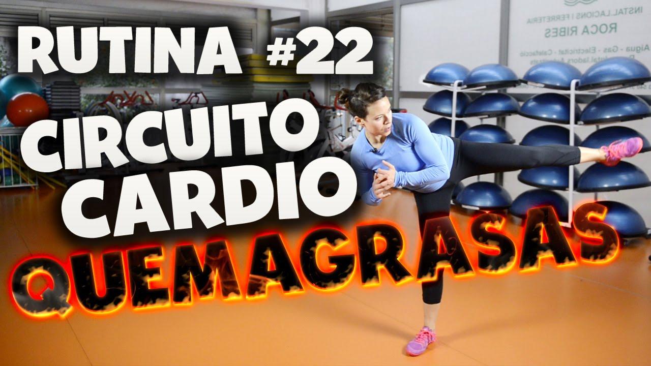 Circuito Quemagrasas : Rutina #22: circuito cardio quemagrasas youtube