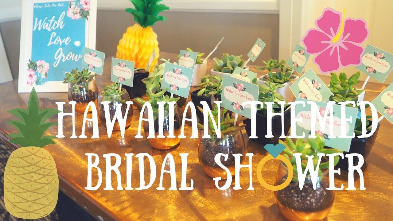 hawaiian themed bridal shower tina slayer