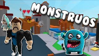 MATANDO A LOS MONSTRUOS DE ROBLOX | Roblox Book of monsters
