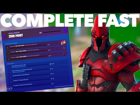 Repeat How To Complete The Zero Point Challenges Fast In