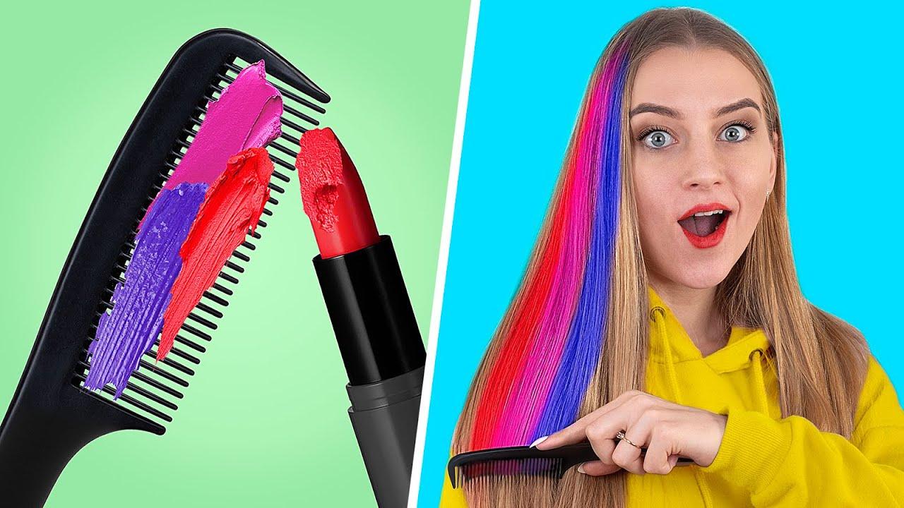 Download 10 Coole Mädchenhafte Schöhnheitstipps / Schlaue Lippenstift Tricks