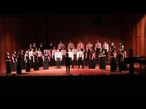 BUMC Jazz Choir - Carol of the Bells (Arr.:Kirby Shaw)