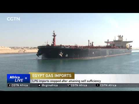 Egypt gas imports