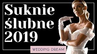 Suknie ślubne 2019- przegląd światowych trendów