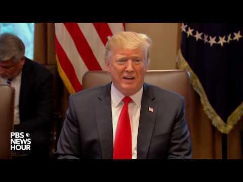 WATCH: Trump answers questions on shutdown, Mattis, border wall