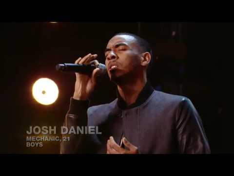 Josh Daniels' singing Labrinth's - jealous ♡