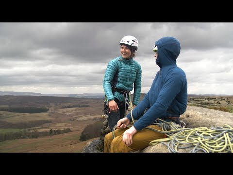 Rab Clothing - Peak design for trad climbing.
