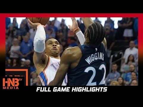 Oklahoma City Thunder vs Minnesota Timberwolves 1st Qtr Highlights / Week 2 / 2017 NBA Season