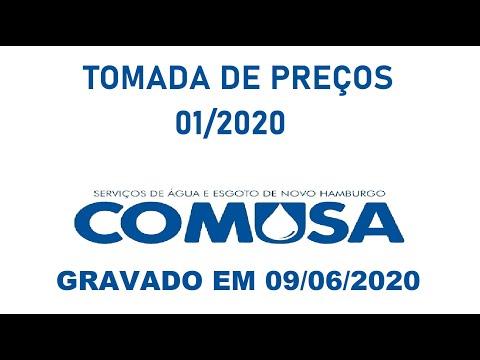 Tomada de Preços n. 001/2020