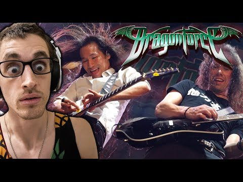 "Hip-Hop Head's FIRST TIME Hearing DRAGONFORCE: ""Through The Fire And Flames"" REACTION"