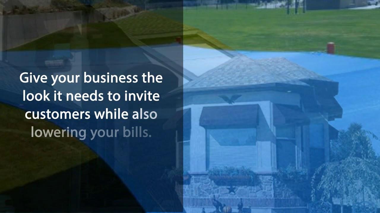 Utah Commercial Awnings Business Tarps In Provo Ogden Slc Youtube