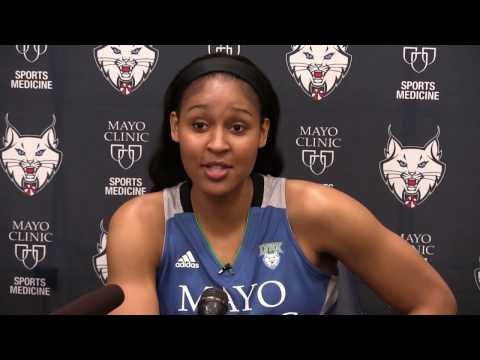 Minnesota Lynx Media Day 2017 - Maya Moore