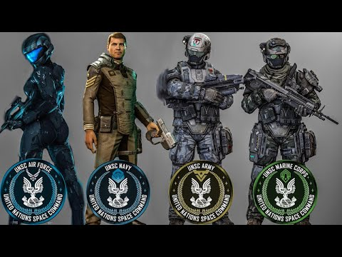 UNSC Military Branches & Ranks Explained | Halo Lore |