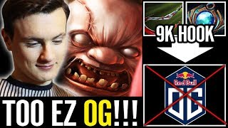 MUST WATCH Miracle SUPPORT PUDGE vs OG Dota 2 Pro