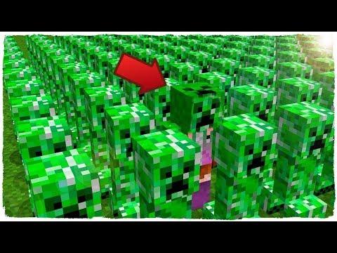 HANGİSİ GERÇEK CREEPER? - Minecraft