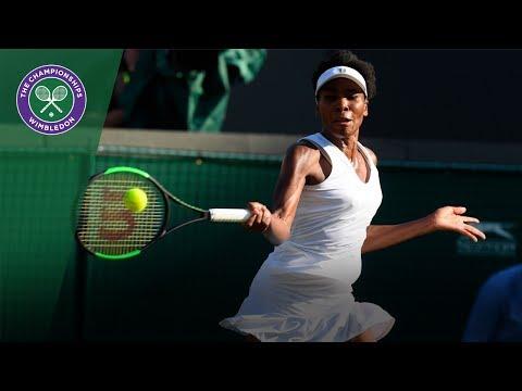 Venus Williams v Qiang Wang highlights - Wimbledon 2017 second round