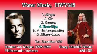 Händel: Water Music, Karajan & The Phil (1959) ヘンデル 水上の音楽 カラヤン