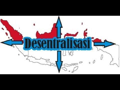 Tujuan desentralisasi dalam otonomi daerah