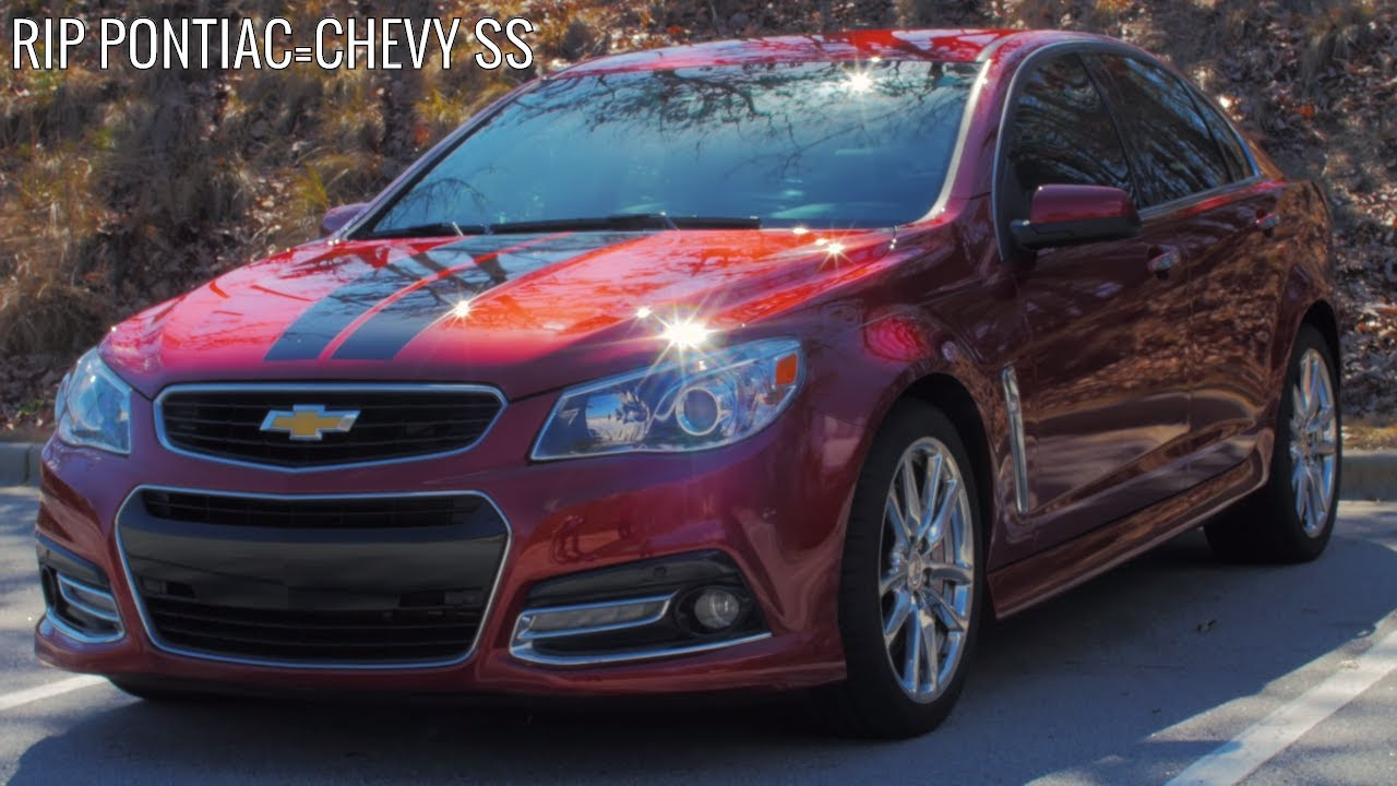 Chevrolet Ss Review Holden And Pontiac In Disguise