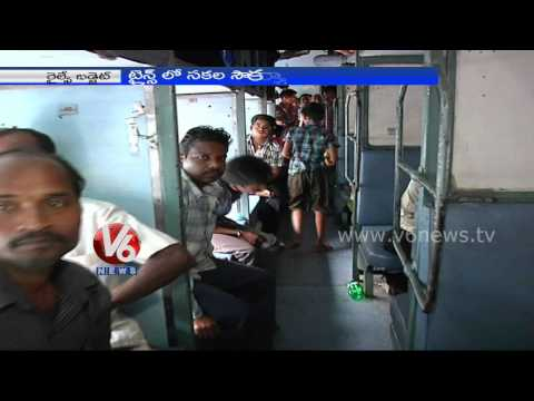 Railway Budget 2014 - Automatic doors in premier trains