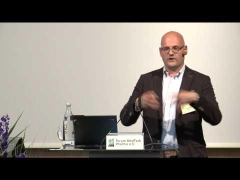 Medizin Innovativ - MedTech Pharma 2014, Vortrag Dr. Guido Bared