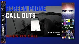 How To Make Anonymous Phone Calls When On Call Emergency Call Out Screen Your Private Number