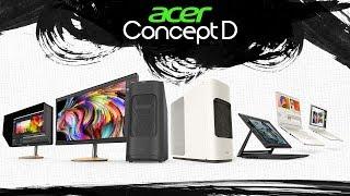 Acer ConceptD Pro, Predator 300 и другие новинки IFA 2019