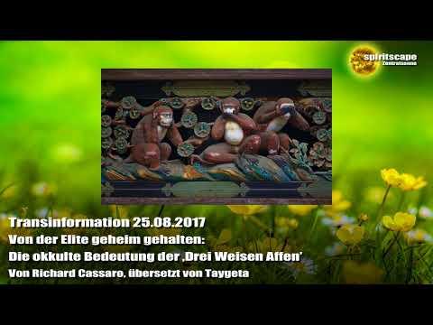 Die okkulte Bedeutung der 'Drei Weisen Affen' - Transinformation - 25.08.2017