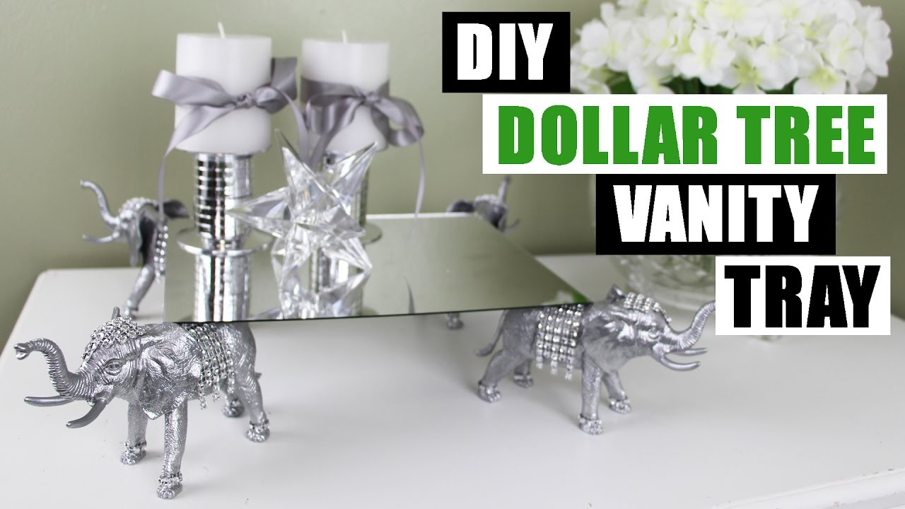 Diy Dollar Tree Vanity Tray Z Gallerie Inspired Diy