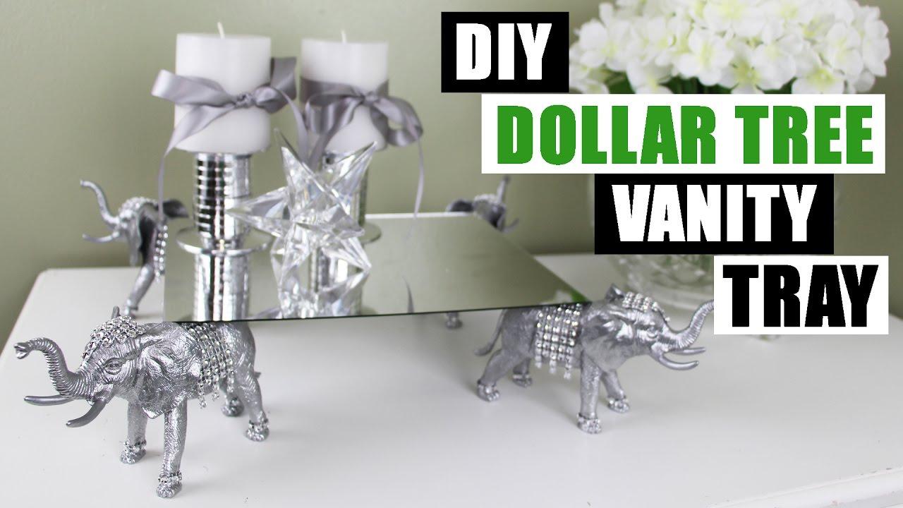 DIY DOLLAR TREE VANITY TRAY Z Gallerie Inspired DIY ...