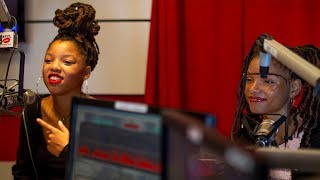 Chloe x Halle talk Lessons Learned from Beyonce, Their Locs, if they Babysit the Twins and more...