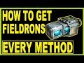How to farm fieldron in Warframe