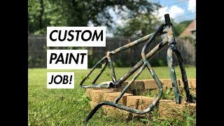 CUSTOM PAINT YOUR BIKE FOR $20.00!