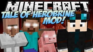 the-tale-of-herobrine-minecraft-mod-showcase