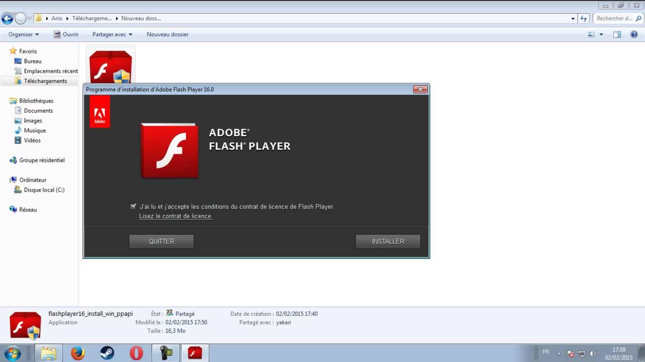adobe flash player opera and chromium download