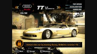 Need For Speed MW unlimited junkman parts (pc 1.3 version)