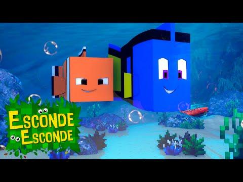 Minecraft: PROCURANDO DORY - O FILME! (Esconde-Esconde)