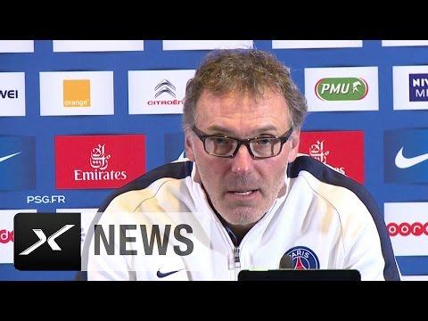 "Laurent Blanc zu Blaise Matuidi: ""Sieht nicht gut aus"" | FC Chelsea - Paris Saint-Germain"
