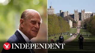 Live: View Of Windsor Ahead Of Prince Philip's Funeral