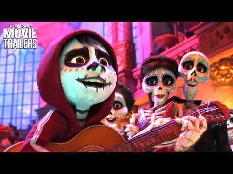 5 Fun-Filled New Clips for Pixar's COCO Family Adventure