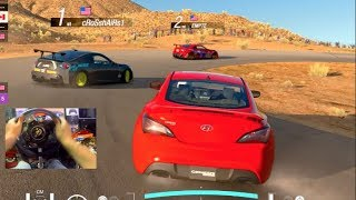 Gran Turismo Sport GoPro FIRST Online Drifting Lobby! (T-GT)