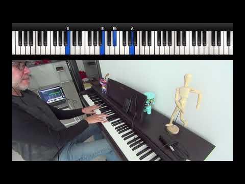 Willie Colón y Rubén Blades - Pedro Navaja - Piano - Ale Marquis