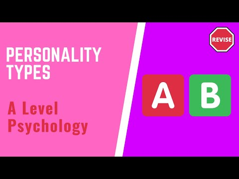 As Psychology - Personality Types